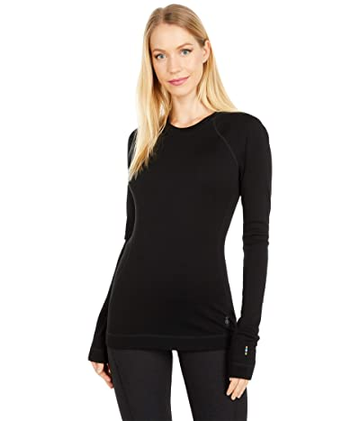 Smartwool Merino 250 Base Layer Crew (Black) Women