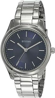 Titan Analog Blue womens Watch 2596SM03