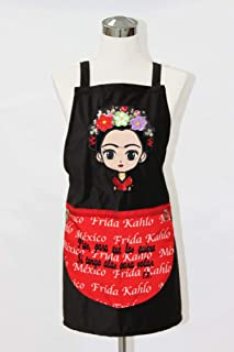 Susaniita Black Frida Apron. Mandil de Frida