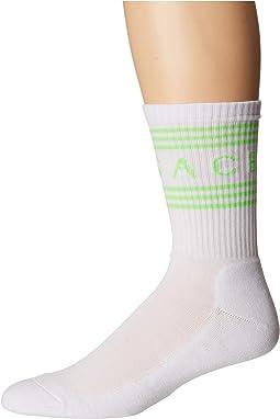 Versace Text Socks