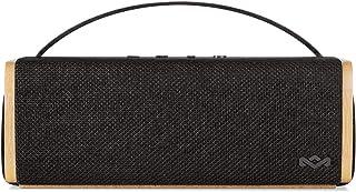 House of Marley Riddim BT, tragbare Bluetooth Lautsprecherbox, 1,5 Zoll Full Range Treiber, 10 Std Akkulaufzeit, Aux In, schnelles Laden per USB, integriertes Mikrofon für iPhone, iPad etc, black
