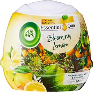Air Wick Natural Oil Scented Gel, Blooming Lemon, 180 g