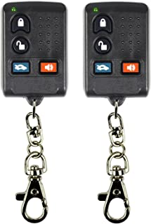 qualitykeylessplus Two Replacement Clone Remote Keyless Entry Key Fob for Mitsubishi FCC ID GQ43VT6T