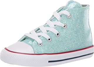 Unisex-Child Infants' Chuck Taylor All Star Sparkle High Top Sneaker