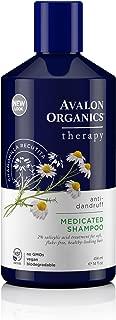Avalon Organics Anti-Dandruff Itch & Flake Shampoo, 14 Fluid Ounce