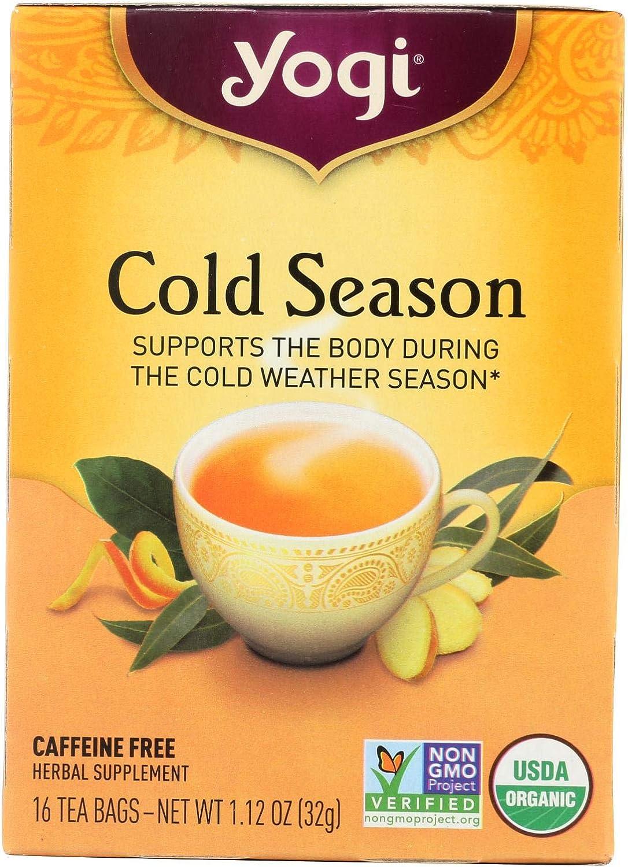 Yogi Tea Cold Season - Caffeine Bags Free 16 Challenge Houston Mall the lowest price of Japan Organi USDA