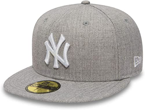 New Era 59Fifty Casquette - Heather New York Yankees Gris