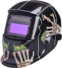 Nuzamas ad energia solare saldatore auto-oscurante maschera saldatura protezione per il viso per ARC TIG MIG grinding taglio al plasma con paralume regolabile gamma DIN4//9-13 UV//IV