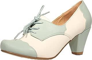 Mirela Two Tone Oxford Heels