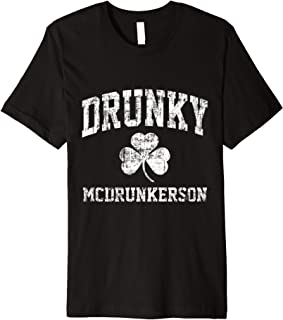Drunky McDrunkerson T-shirt, Drunky McDrunkerson Shirt