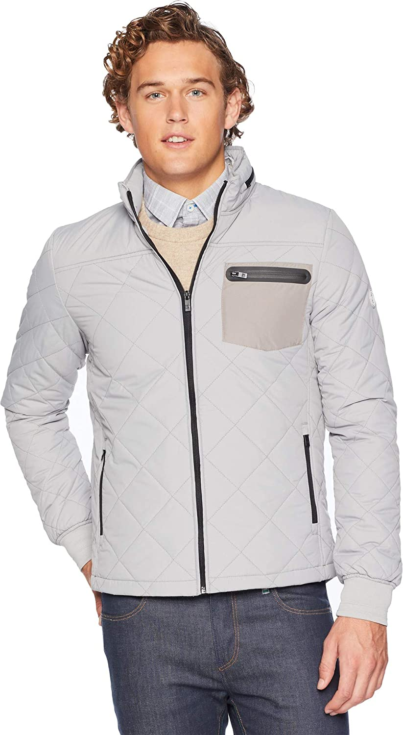 Scotch & Soda Mens Short Quilted Jacket
