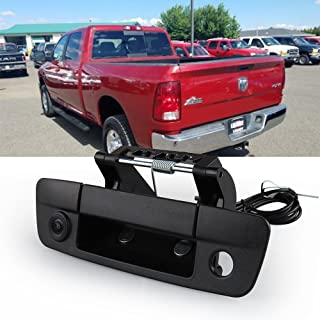 Tailgate Handle Backup Camera, CAR ROVER Reverse Reversing Rear View Cameras for Dodge Ram 2009-2017 (Pack of 1)