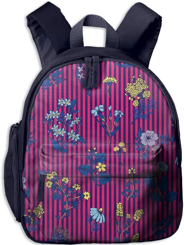 Backpack, School Backpack for Boys Girls Cute Cute Cute Fashion Mini Toddler Canvas Backpack, Flora B07LFZJ5BM  Leicht zu reinigende Oberfläche edb974