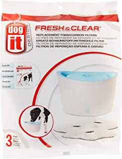 dogit design fresh & clear pet fountain