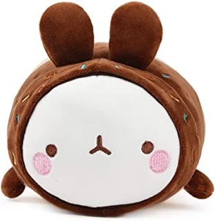 Molang Fluffy Soft Mochi Spandex Cushion Stuffed Animal Plush Pet Donut Rabbit Toy 9