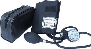 مانیتور سنسور ضد انعقادی سانتا کمپوت لوکس - مانیتور فشار خون حرفه ای با کاف سیاه و سفید بزرگسال و کیف حمل (نور سیاه)