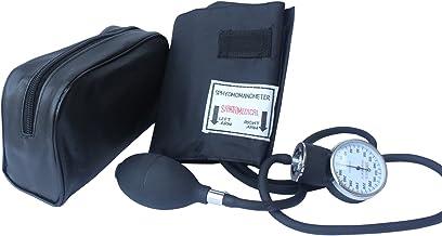 Santamedical Adult Deluxe Aneroid Sphygmomanometer – Professional Blood Pressure..
