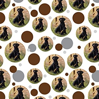 GRAPHICS & MORE Black Labrador Retriever Dog Puppy Premium Gift Wrap Wrapping Paper Roll