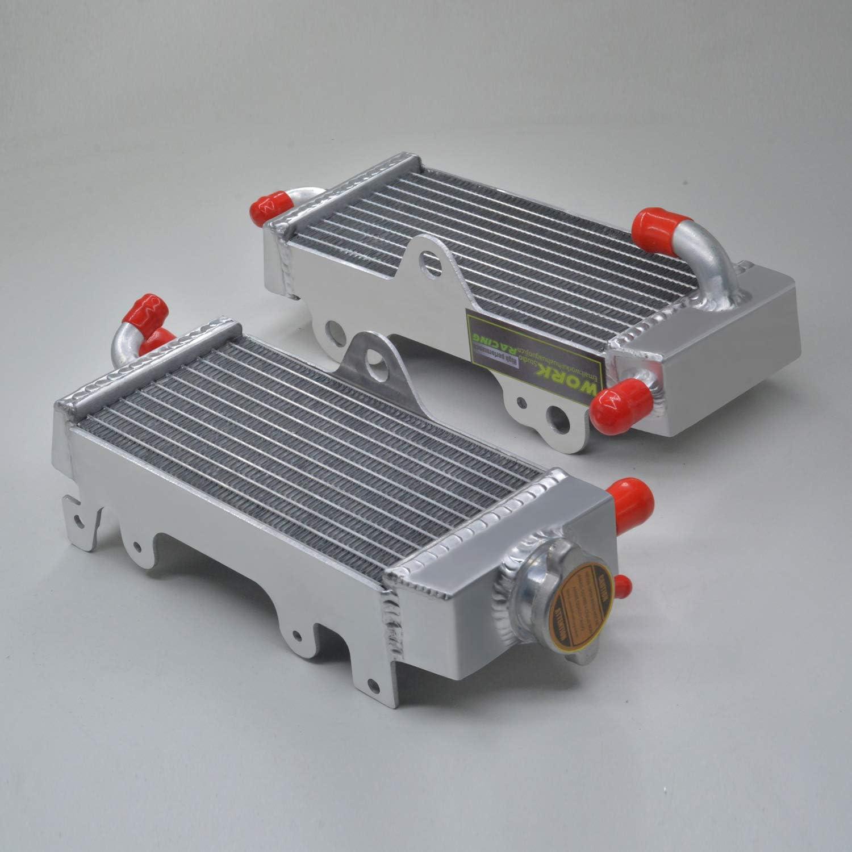 aluminum radiator for お買い得品 Yamaha YZ125 Lef 1999 1997 1998 1996-2001 ☆送料無料☆ 当日発送可能
