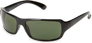 Ray-Ban Men's RB4075 Rectangular Sunglasses