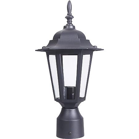 30480WGBO Maxim Oakville 1-Light Outdoor Pole//Post Lantern in Black Oxide