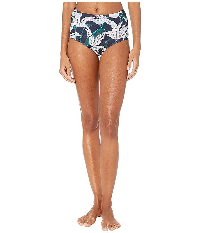 Tory Burch Swimwear Printed High-Waist Bottoms (Desert Bloom Pigment) Women