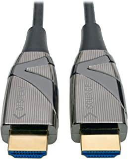 High-Speed HDMI 2.0 Fiber Active Optical Cable (AOC) - 4K X 2K HDR @ 60 Hz, 4: M/Black, 100 M