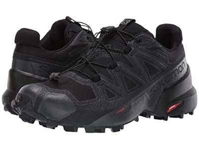 Salomon Speedcross 5 GTX(r) (Black/Black/Phantom) Women