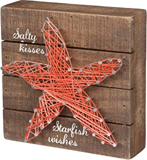 Primitives by Kathy String Art Box Sign, 6