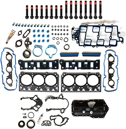 Vincos Head Gasket Set w/Head Bolt Compatible with BUICK