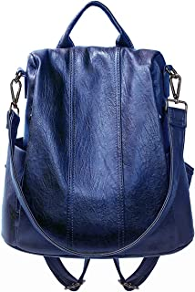 Women Backpack Fashion PU Leather Backpack Purse Anti-theft Backpack Ladies Shoulder Bags