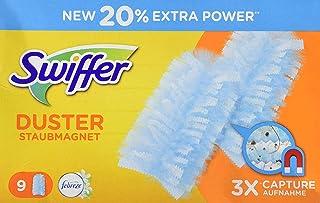 Swiffer Duster Recharges Plumeaux Attrape-Poussière, 9 Plumeaux