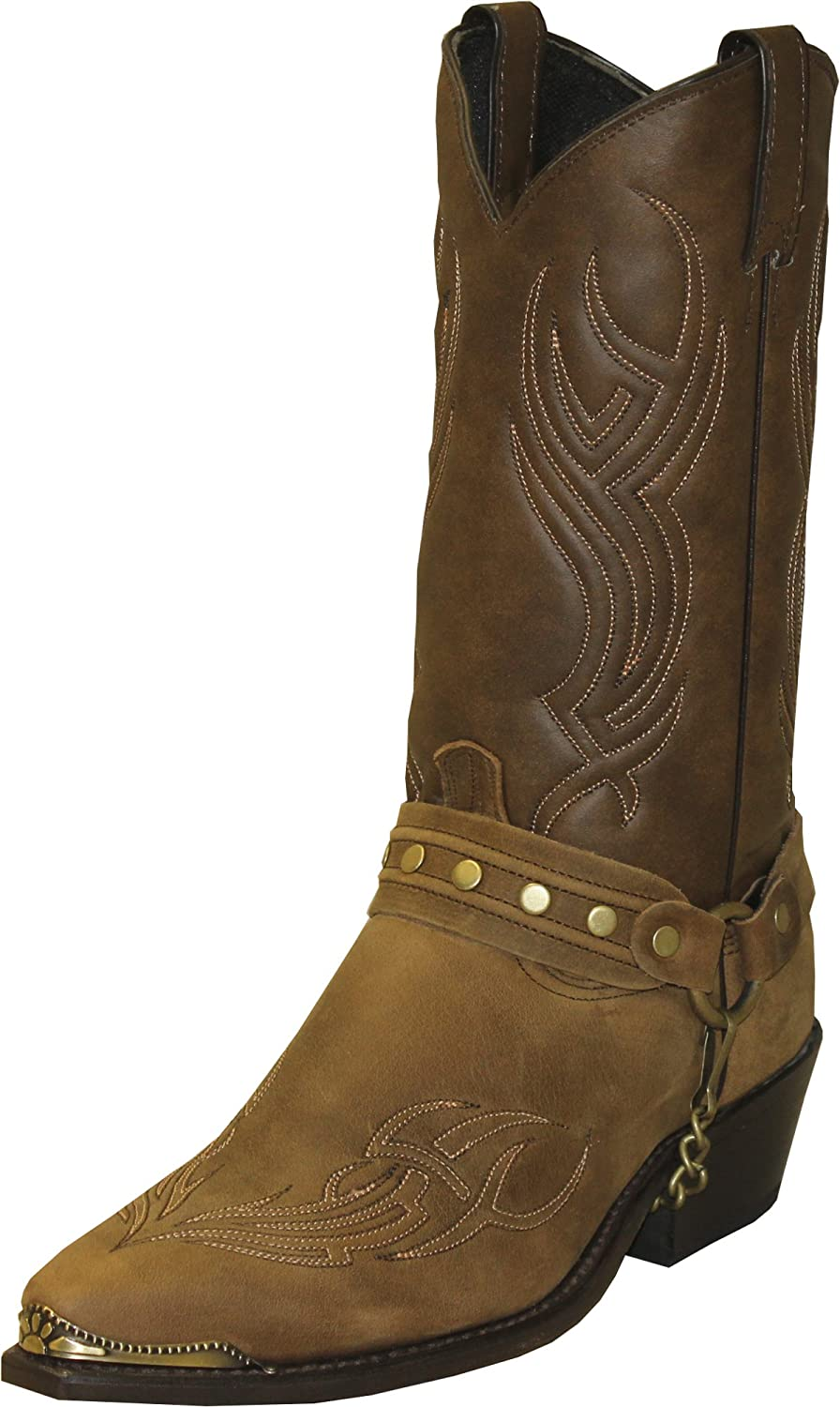 Abilene Men's Sage by Harness low-pricing Boot Black Studded Max 52% OFF