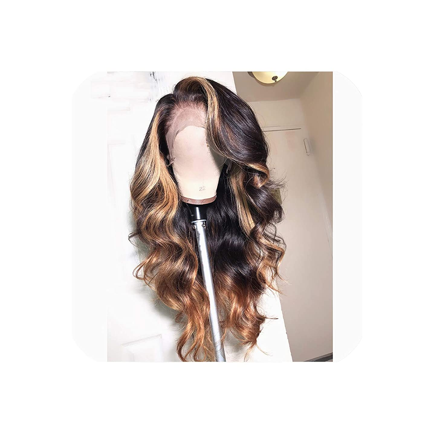 13X6 Deep Part Lace Front Human Wigs Body Wave 180% Density Brazilian Remy Human Pre-Plucked Hairline,18Inches,180%,13X3 Lace Front Wig