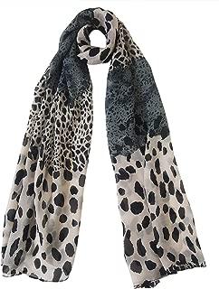 Mehrunnisa Fashion Leopard Print Scarf/Neck Wrap - Unisex