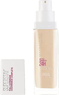 Maybelline Super Stay Full Coverage Liquid Foundation Makeup, Porcelain, 1 fl. oz.