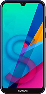 HONOR 8S Dual SIM, 32GB storage, 13MP AI Rear Camera, 5.71 Inch Full View Display, Android 9.0, UK Official Device -Blue