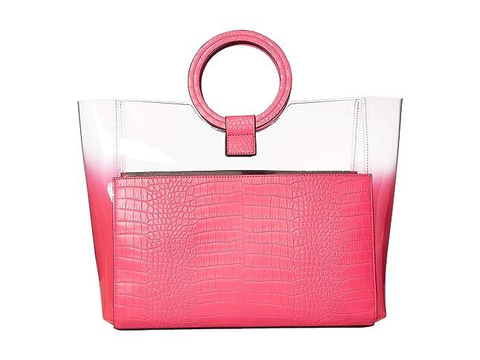Vince Camuto  Clea Tote (Neon Fuchsia) Handbags
