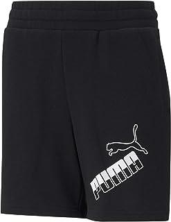 PUMA mens Amplified Big Logo Shorts Shorts