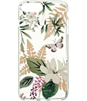 Kate Spade New York - Jeweled Botanical Clear Phone Case for iPhone® 7 Plus/iPhone® 8 Plus