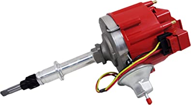 Top Street Performance JM6511R 50K Volt Coil HEI Distributor with Red Cap