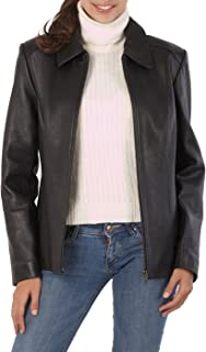 BGSD Women's Miranda Lambskin Leather Jacket (Regular and Plus Size and Short)