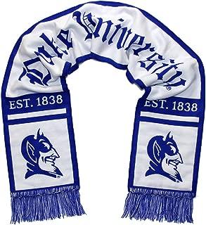 Tradition Scarves Duke Blue Devils Scarf - Duke University Alternate White Woven