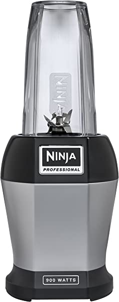 Ninja BL456 Blenders Countertop 24 Oz Silver Black