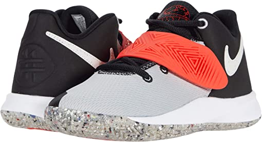 Black/White/Light Smoke Grey/Bright Crimson