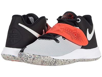 Nike Kids Kyrie Flytrap III MTF (Big Kid) (Black/White/Light Smoke Grey/Bright Crimson) Kid