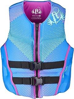 Full Throttle Women's Hinged Rapid-Dry Flex-Back Life Vest, Purple