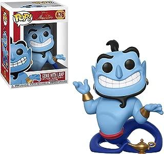 Funko Genie w/ Lamp: Aladdin x POP! Disney Vinyl Figure & 1 PET Plastic Graphical Protector Bundle [#476 / 35757 - B]