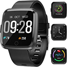 Maypott Fitness Tracker, Smart Watch with Heart Rate Monitor, Activity Tracker Blood Pressure Sleep Monitor, Step Counter,...