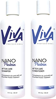 Viva After care Shampoo and Conditioner Nano protein (Package) 236ml